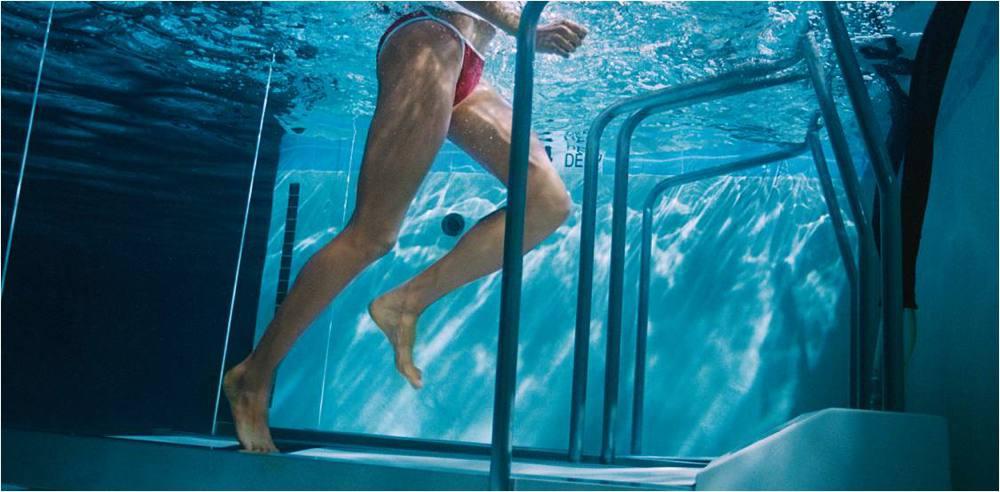 Correr en el agua