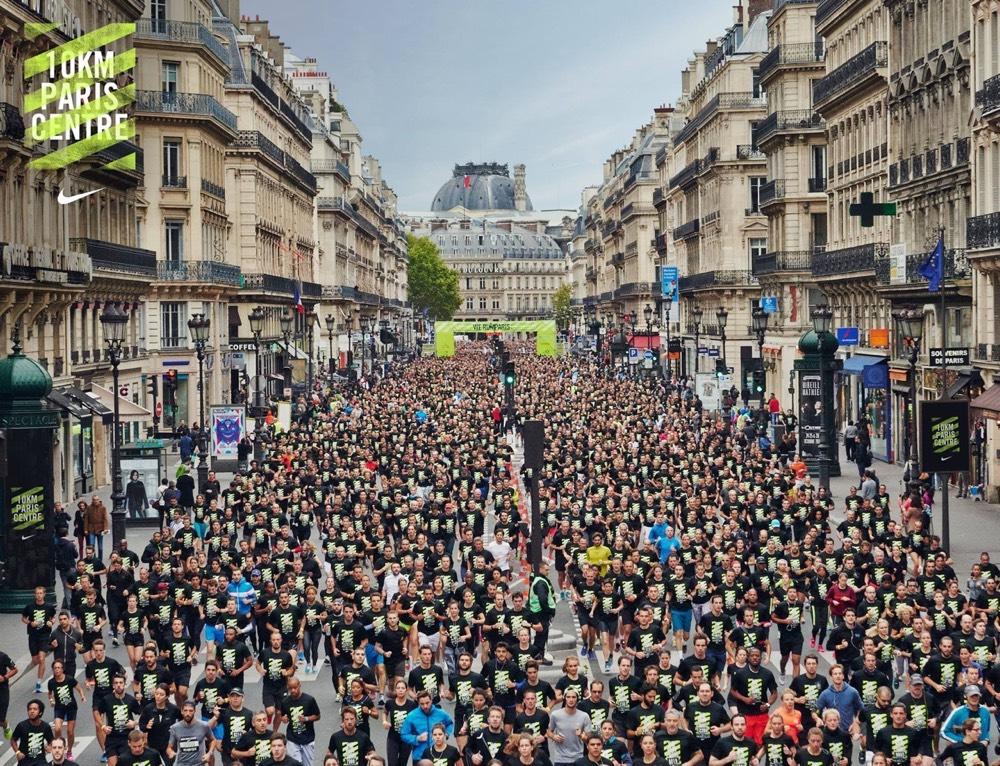 we run paris