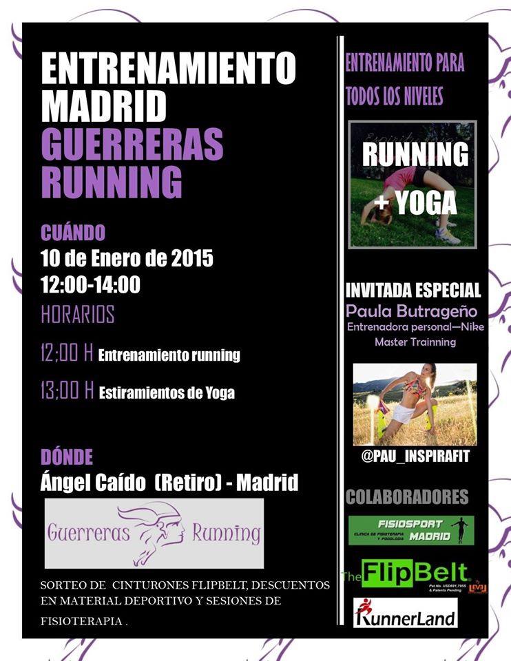 guerreras running