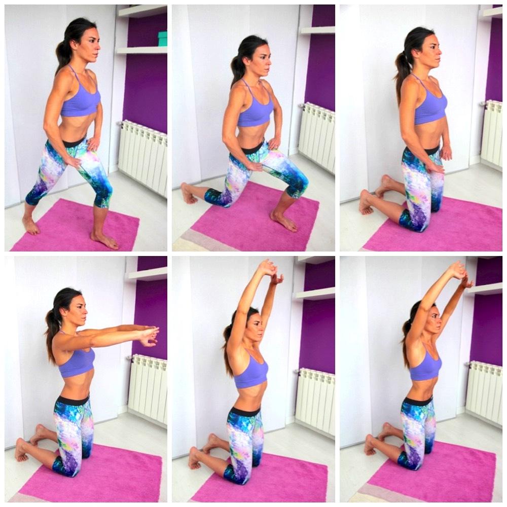 abdominales hipopresivos diástasis parto ejercicios