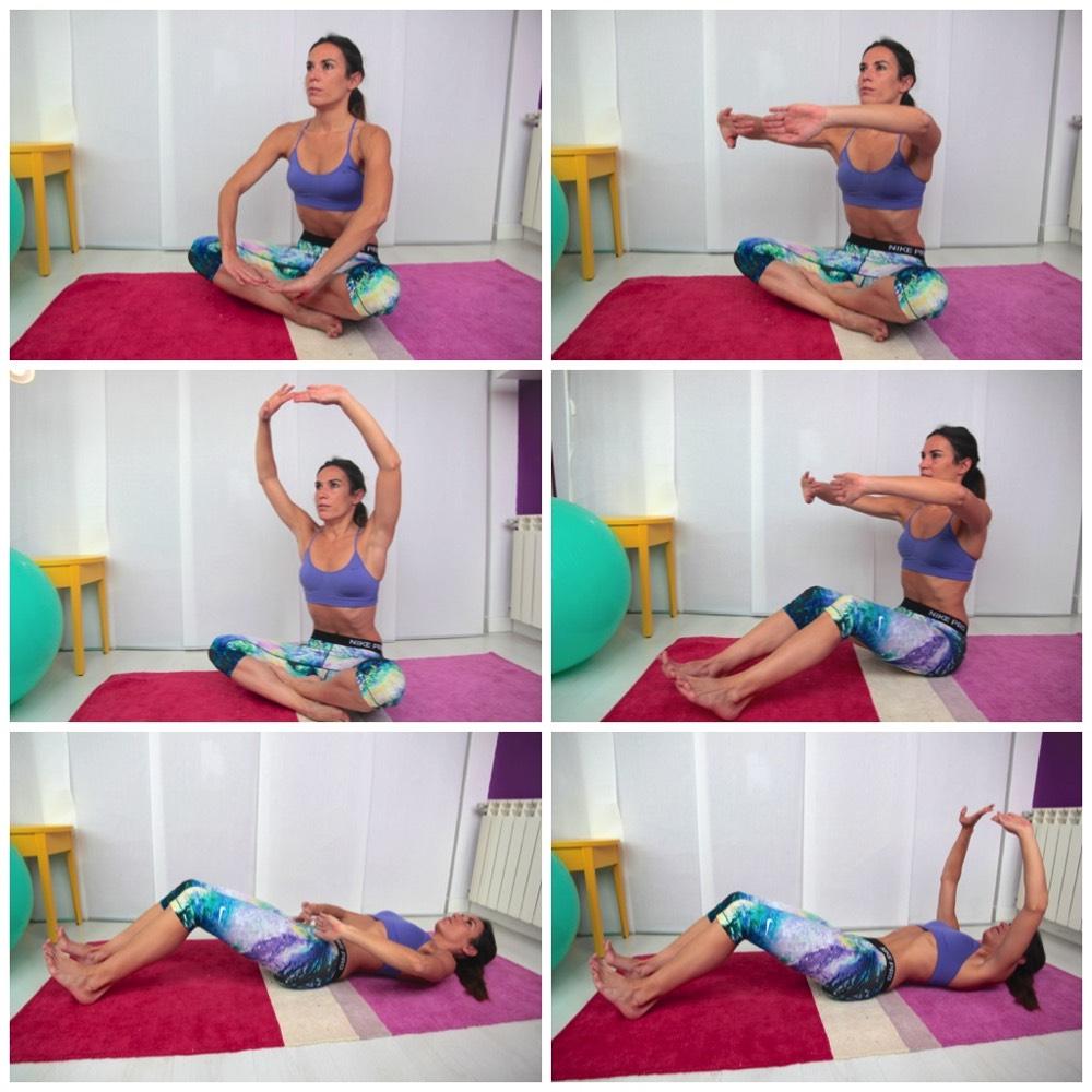 diástasis abdominales hipopresivos ejercicios pau inspirafit