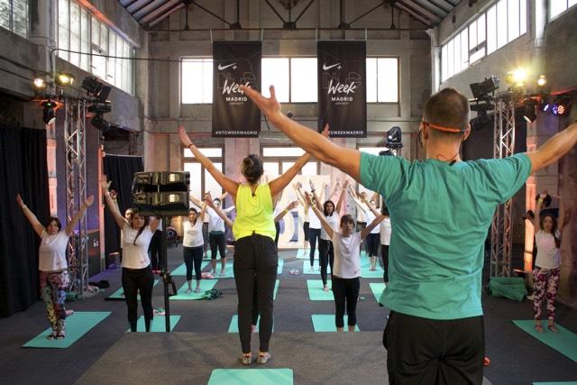 ntcweek yoga nike training inspirafit