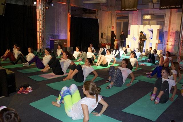 ntcweek yoga nike training