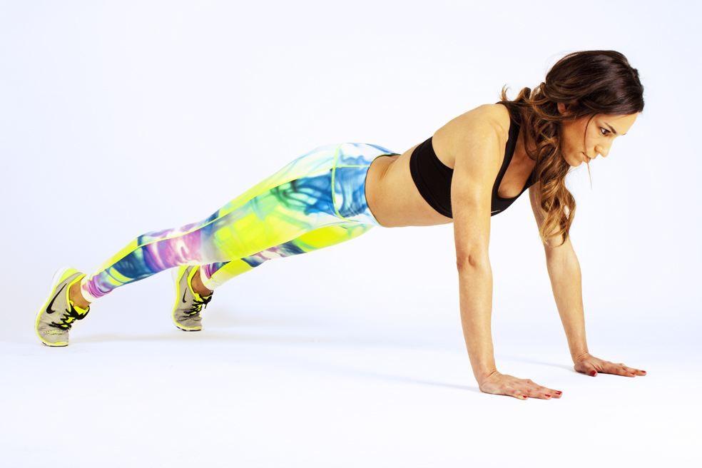 reto febrero inspirafit fitness caminar con las manos abdominales