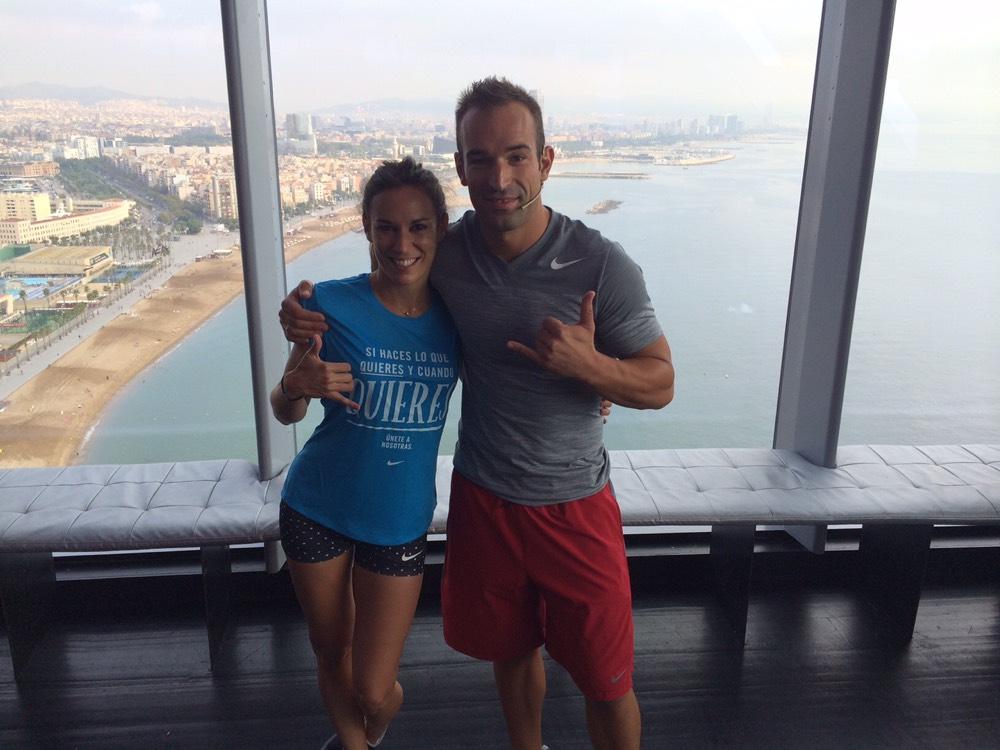 oscar peiro paula butragueño barcelona fitness pilates