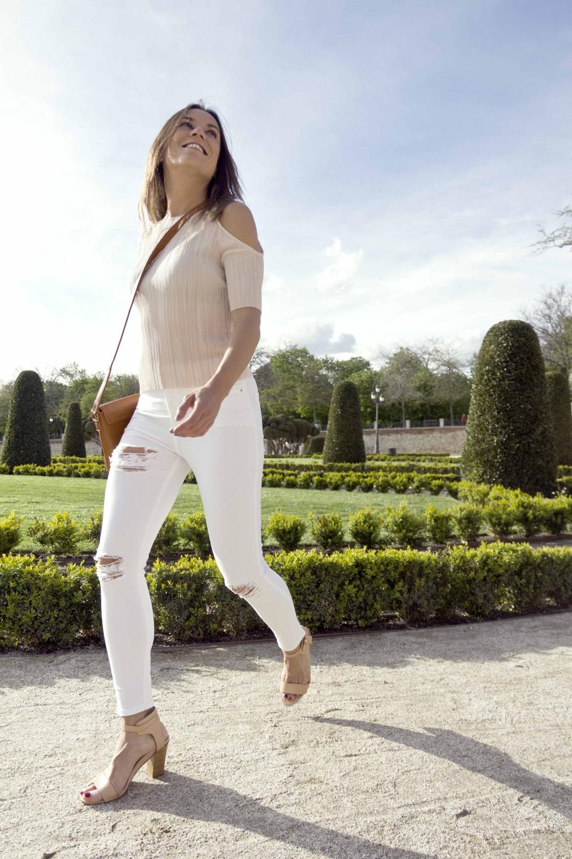 look casual sport fashion blanco inspirafit