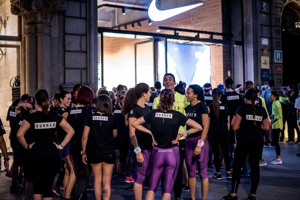 entrenamiento ntc en barcelona running paseo de gracia