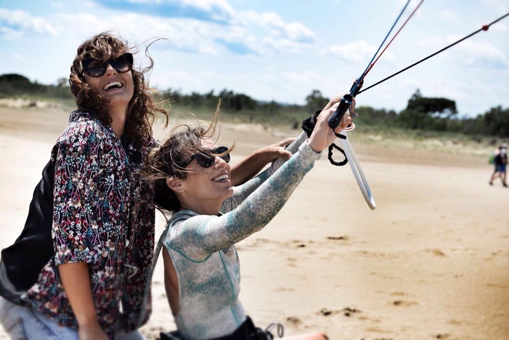 wetsweets inspirafit kite surf mar playa