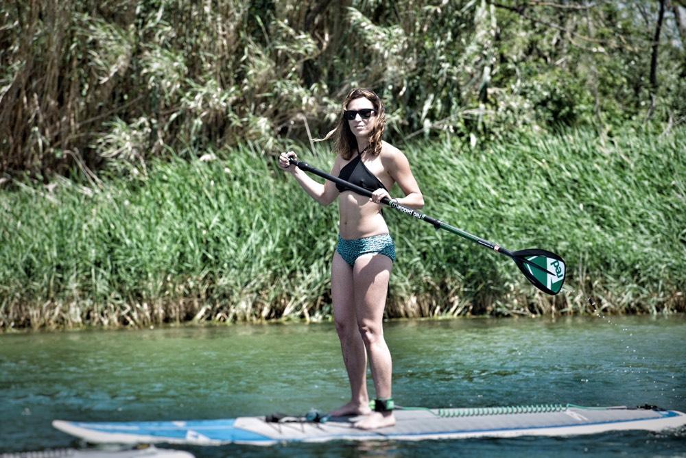 paula butragueño pau inspirafit paddle surf bikini