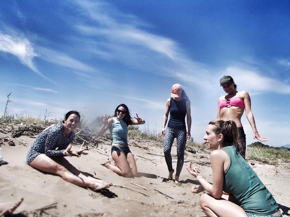 inspirafit kite surf playa wet bañadores