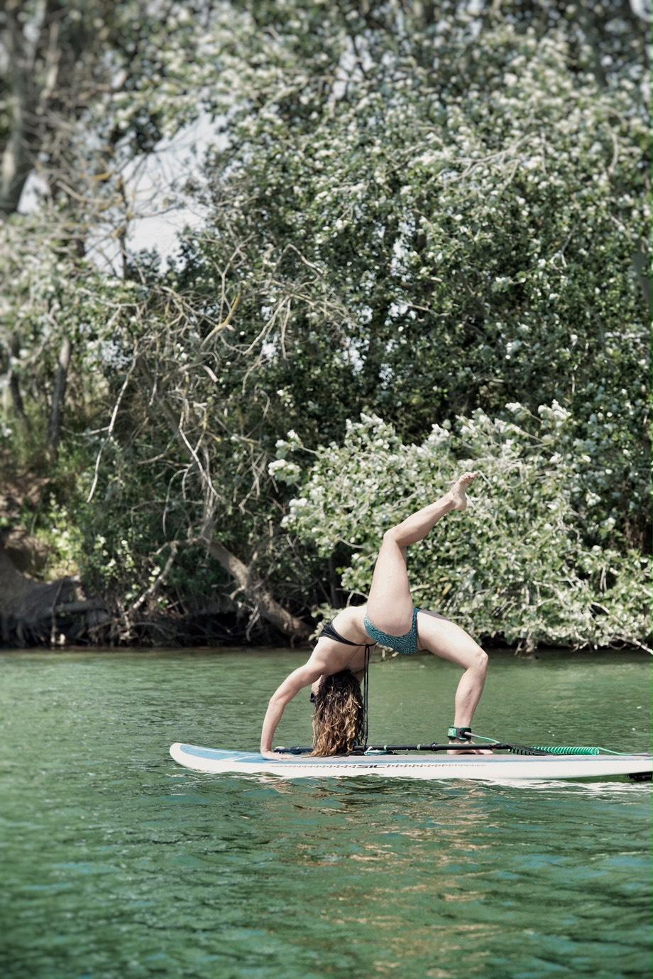 inspirafit yoga paddle surf bikini equilibrio