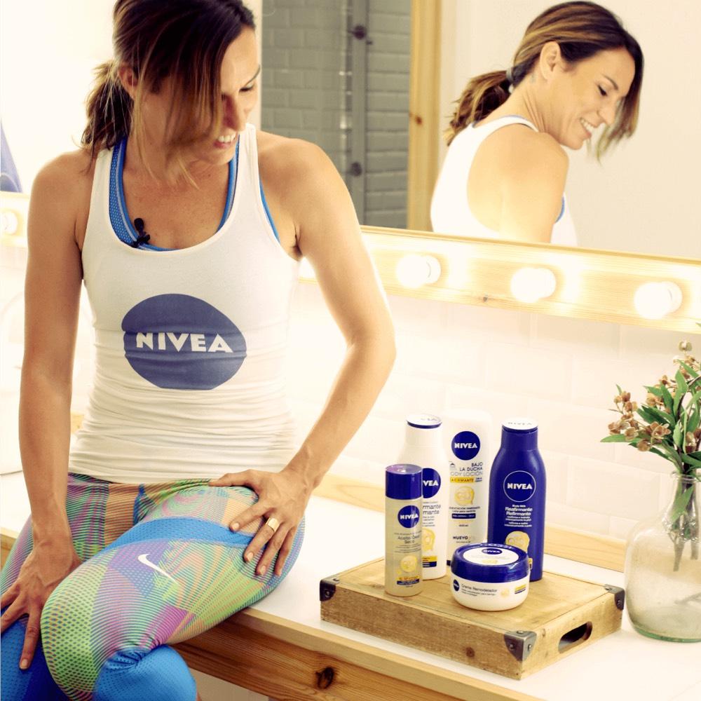 inspirafit entrenamiento funcional fitness nivea crema belleza