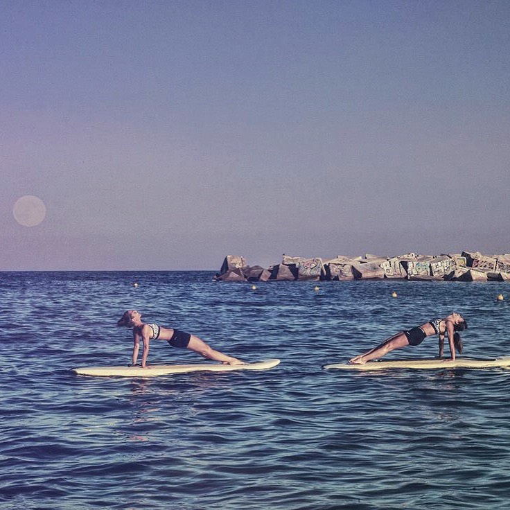 inspirafit Moonlight Yoga Paddle Surf