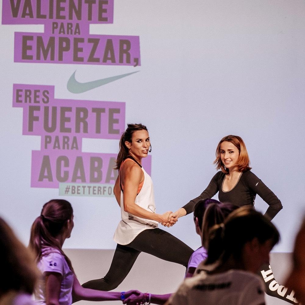 Nike training Zahara Aauri Bokesa inspirafit super yo