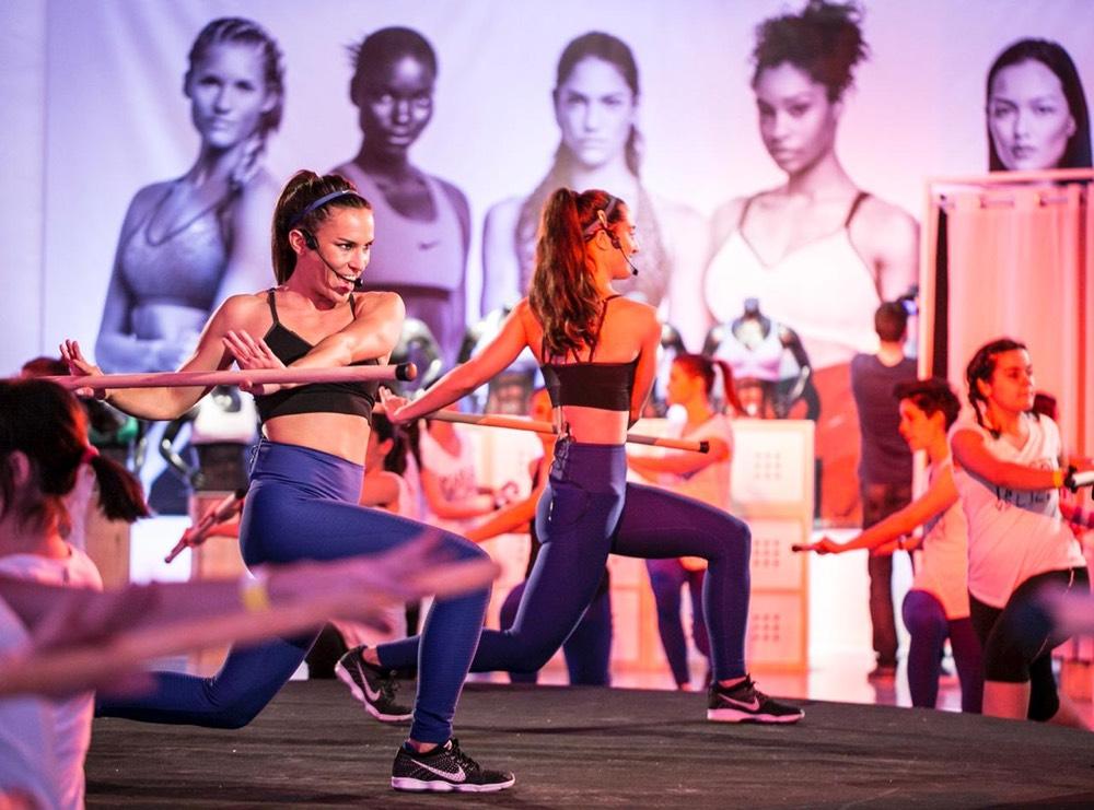 Nike Women´s Week inspirafit fitness barcelona