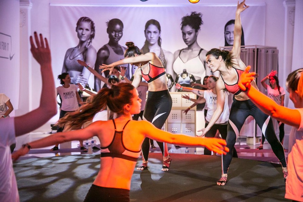 Nike Women´s Week inspirafit fitness barcelona