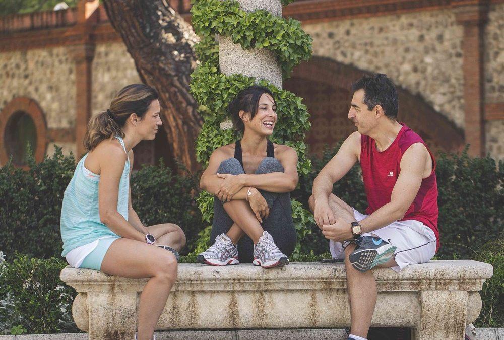 xenia tostado actriz inspirafit fitness unagimagazine retiro madrid run and mind
