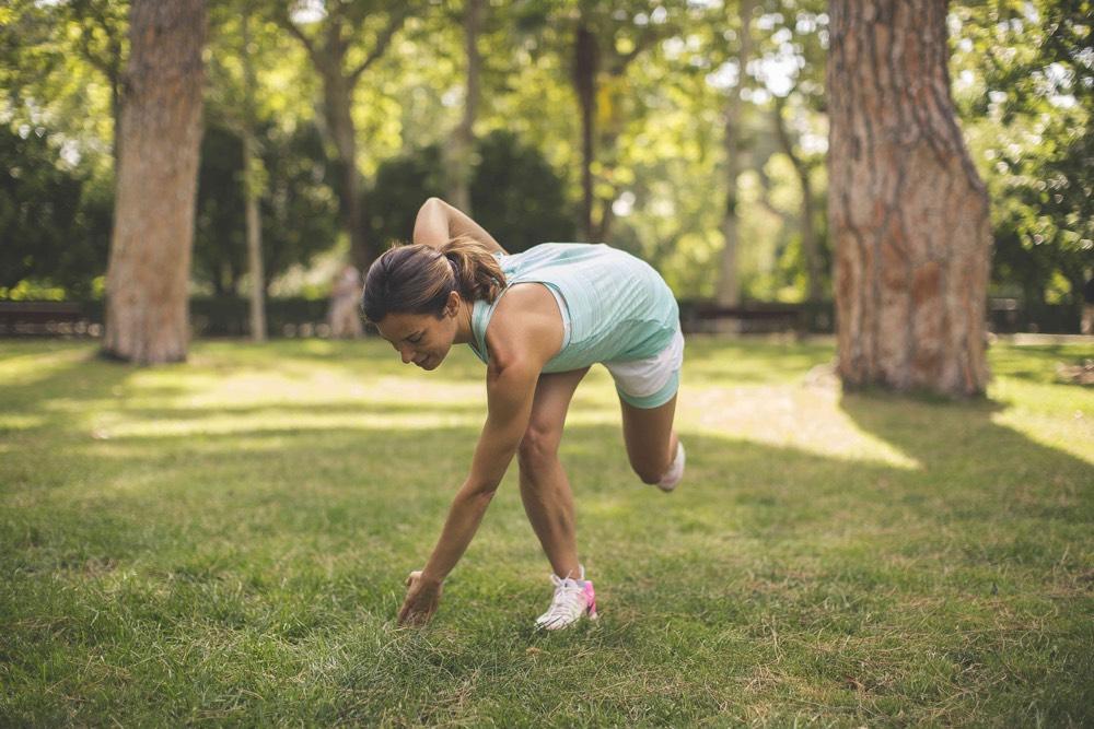 inspirafit cruce diagonal una pierna running