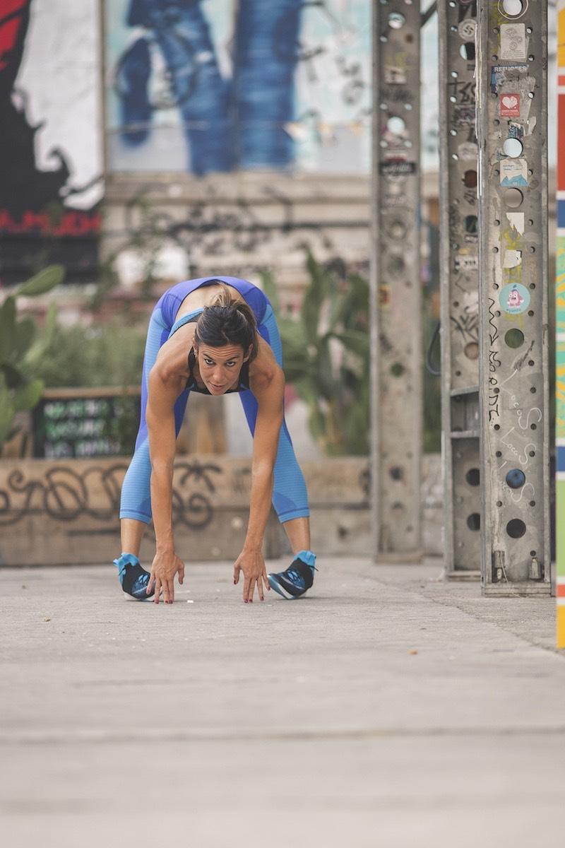 estiramientos después correr inspirafit running tibias