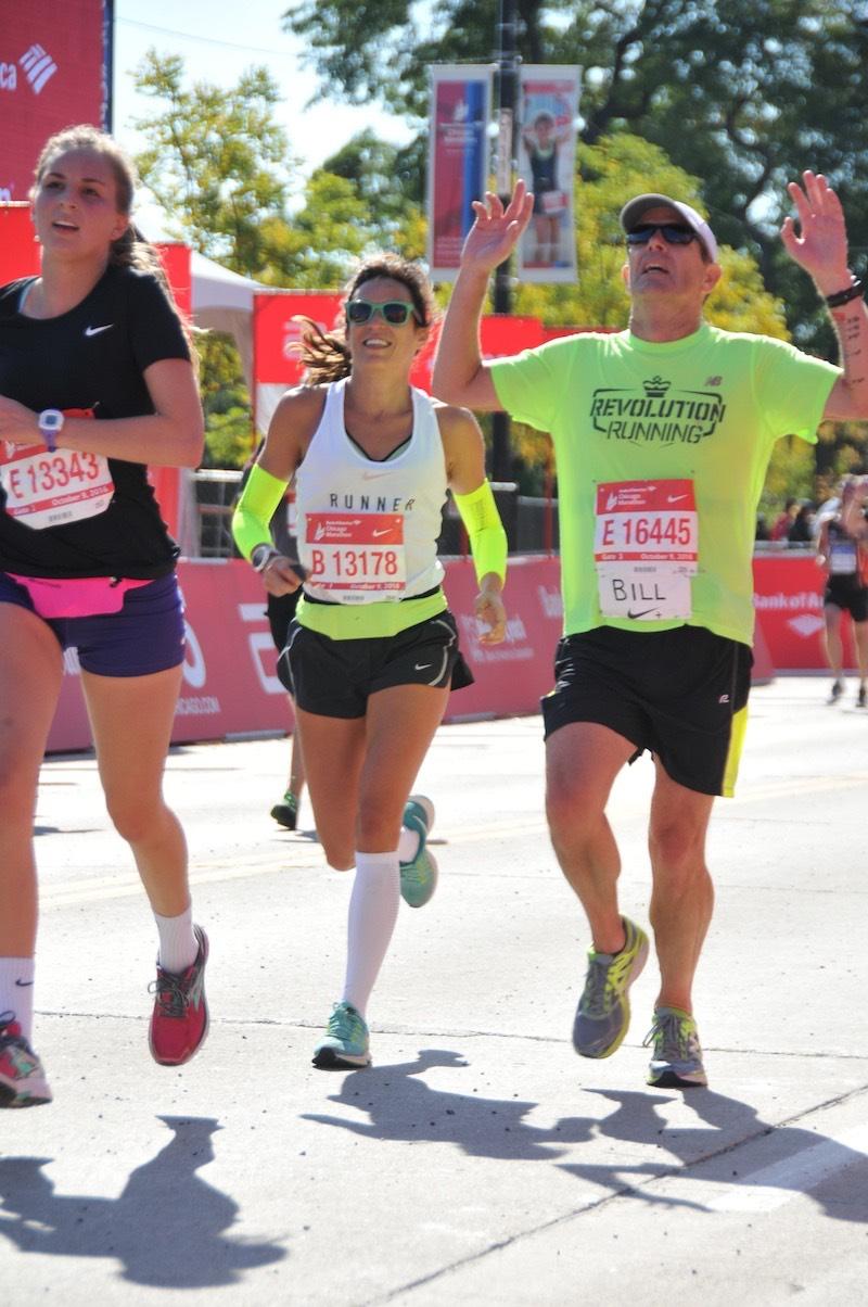 paula butragueño maratón de chicago running