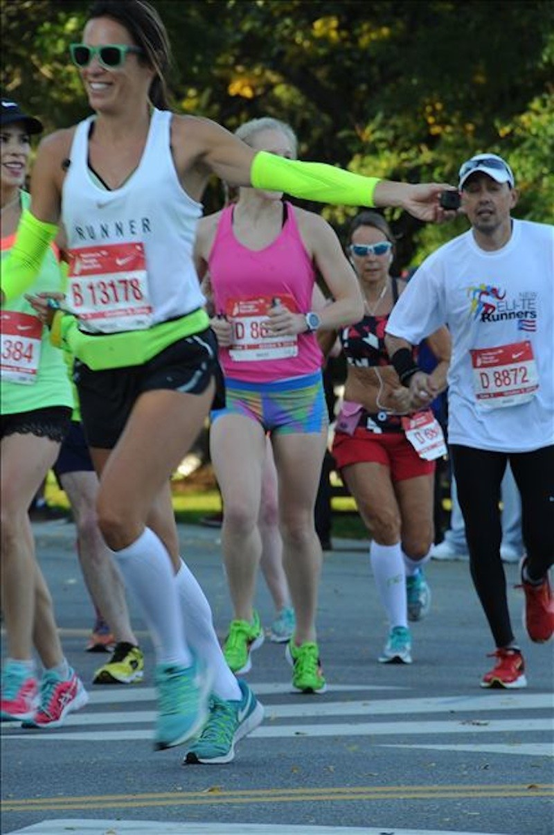 pau inspirafit running maratón de chicago