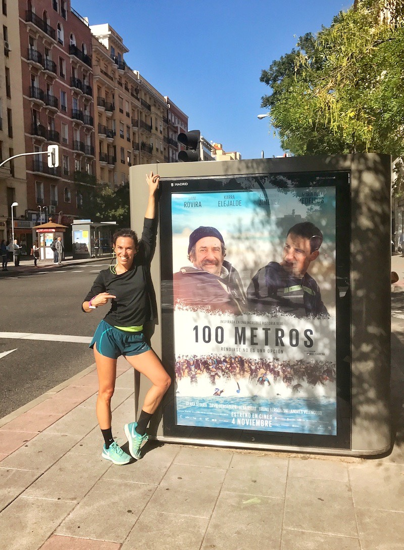 paula butragueño runnin 100 metros película triatlon