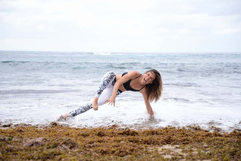 paula butragueño inspirafit mar yoga