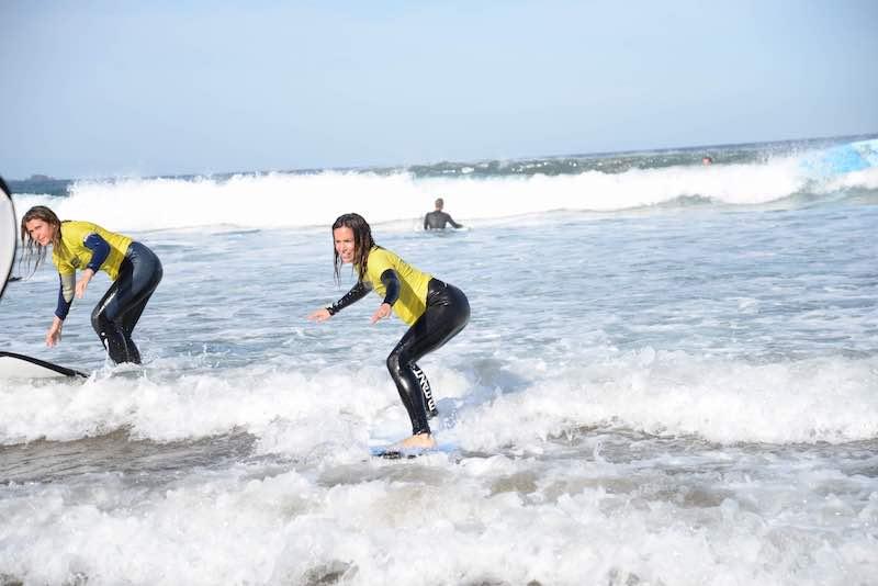 paula butragueño surf playa mar