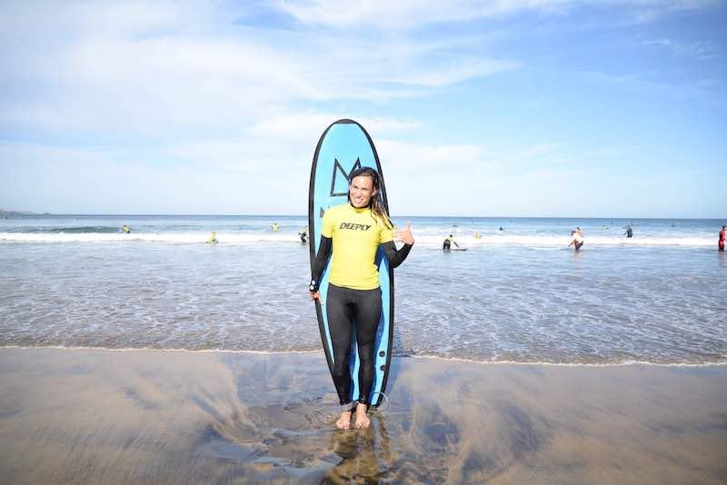 paula butragueño surf deporte influencer