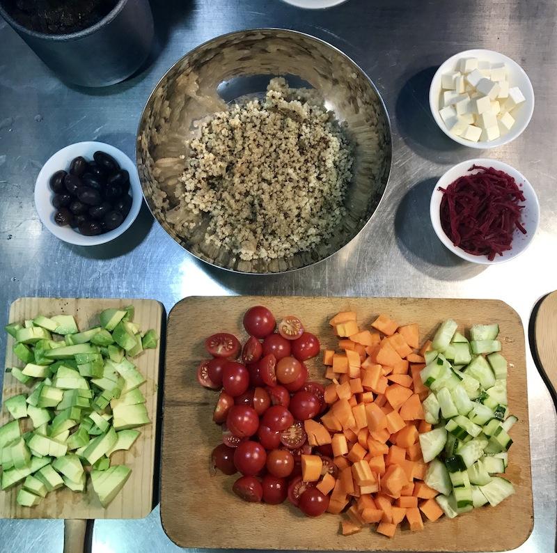 ensalada quinoa receta inspirafit saludable alimentacion