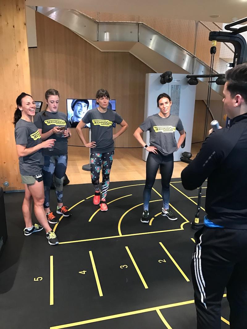 wellness technogym paula butragueño inspirafit entrenamiento