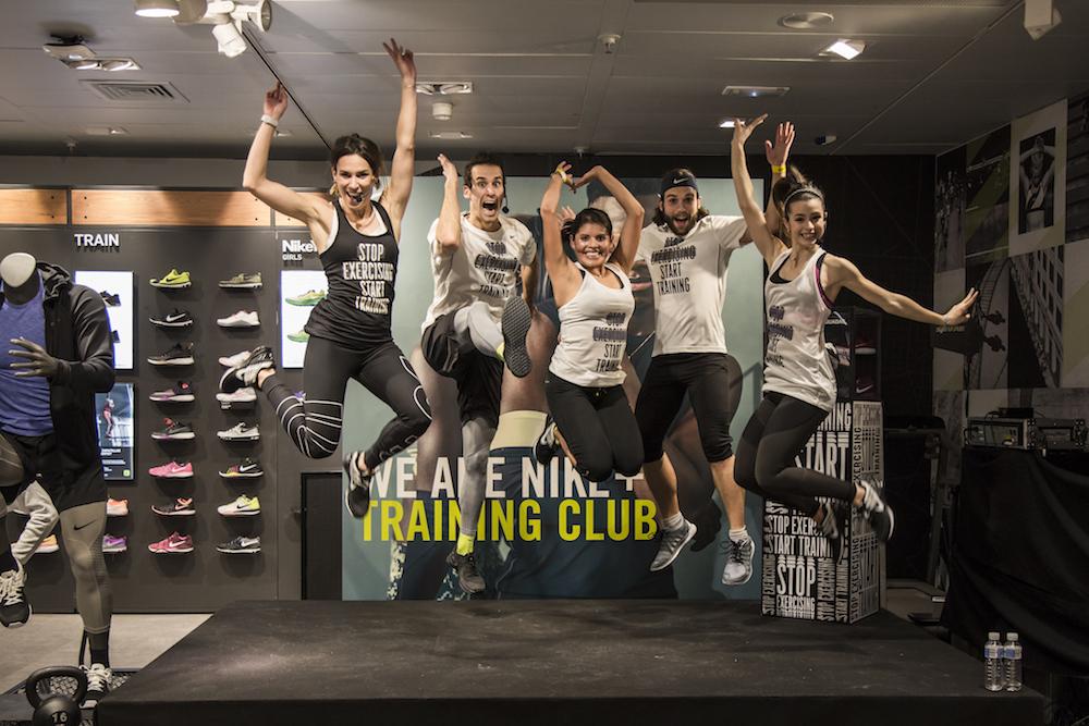 nike training entrenamiento madrid pau inspirafit fitness hiit