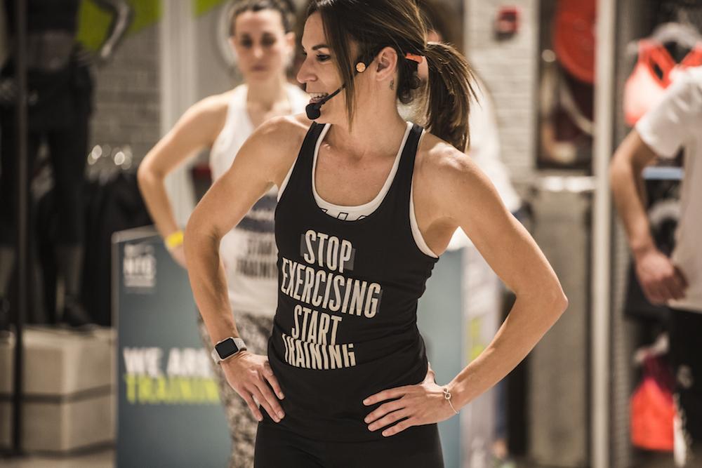 Empieza a entrenar y deja de hacer ejercicio