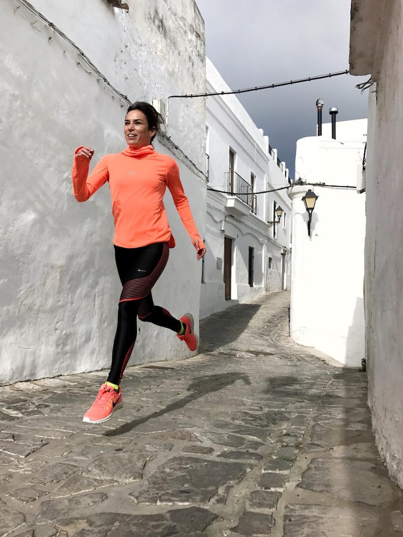 paula butragueño running vejer de la frontera running