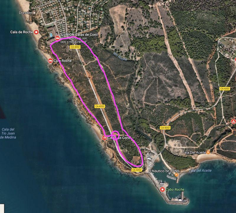 conil running correr cadiz inspirafit playa