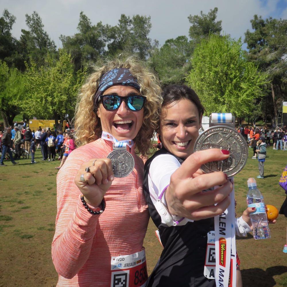 paula butragueño maraton israel