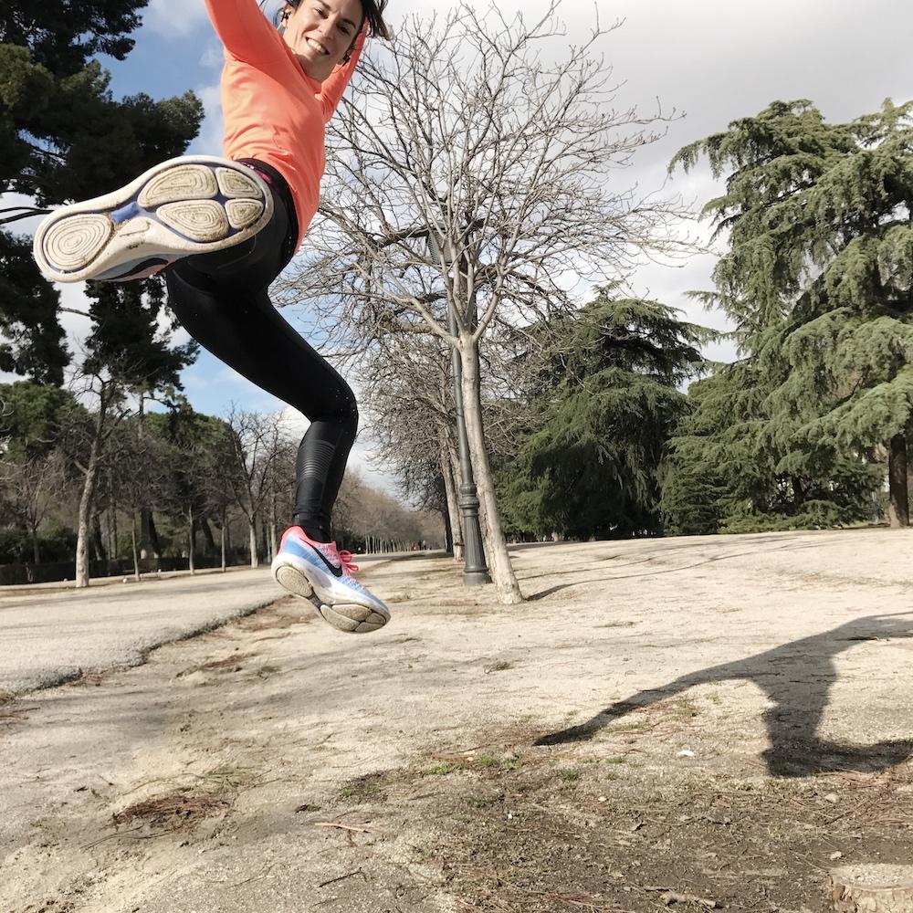 organizar mis entrenamientos de running lunar epic flynight