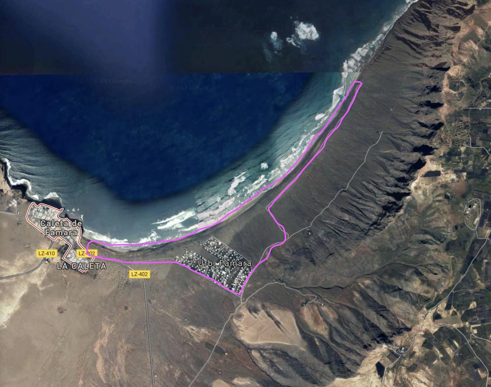 rutas para correr por lanzarote running pau inspirafit caleta de famara google maps