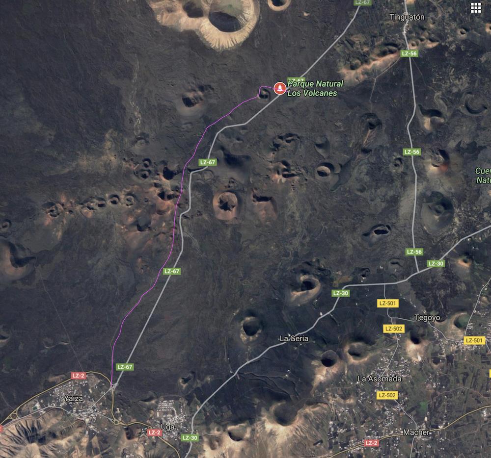 rutas para correr en lanzarote pau inspirafit timanfaya volcanes
