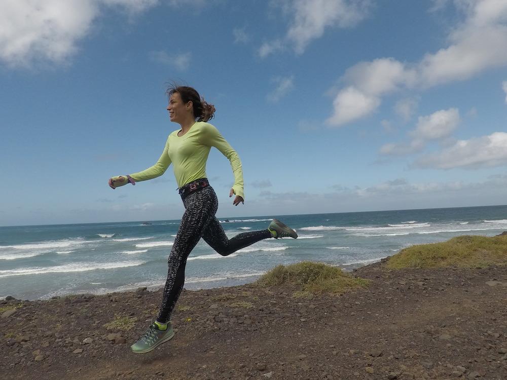 rutas para correr por lanzarote running pau inspirafit playa de famara