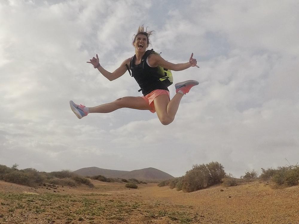 rutas para correr en lanzarote la graciosa pau inspirafit running canarias