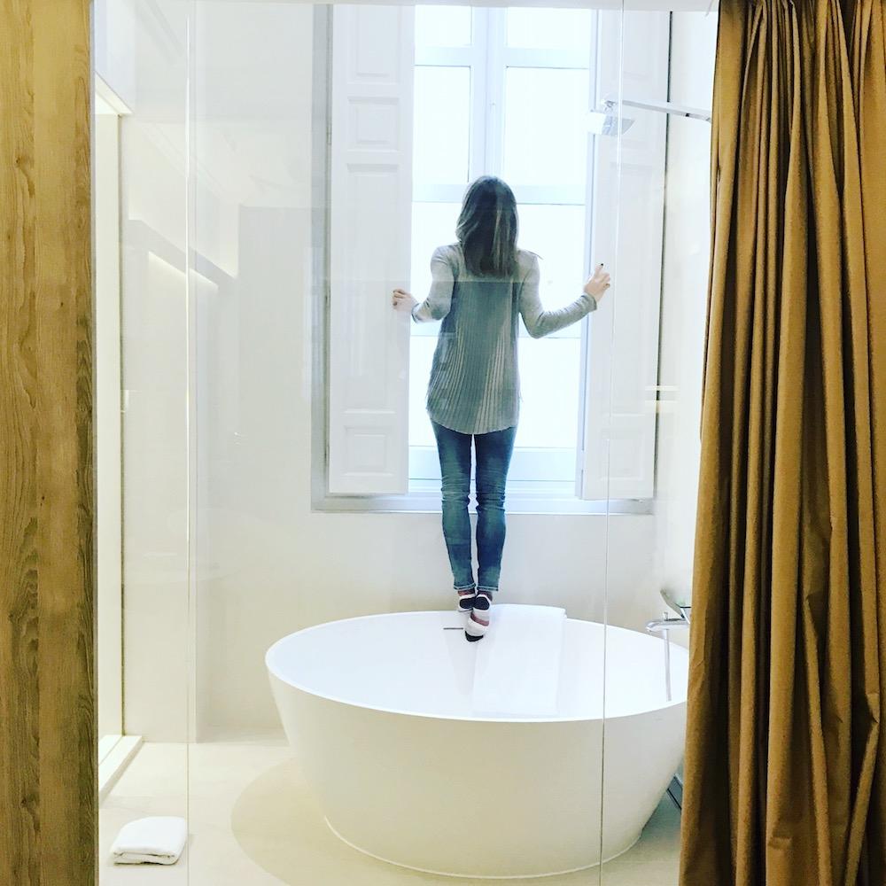 pau inspirafit san valentín hotel relax mindfulness ducha