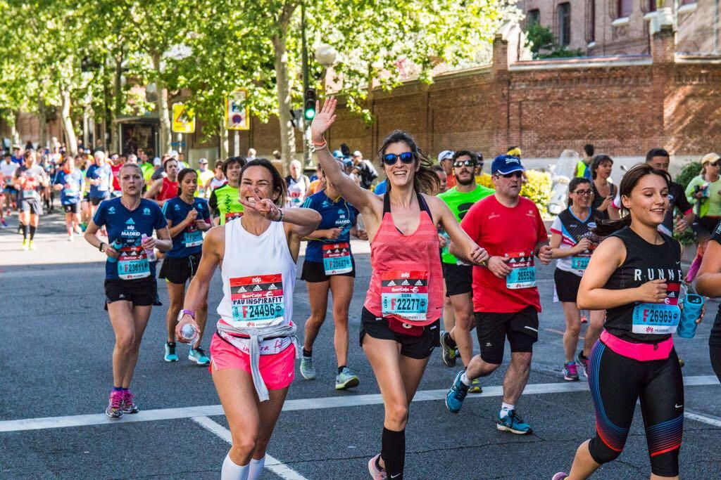 entrenamiento de tonificación media maratón de madrid mapoma inspirafit running