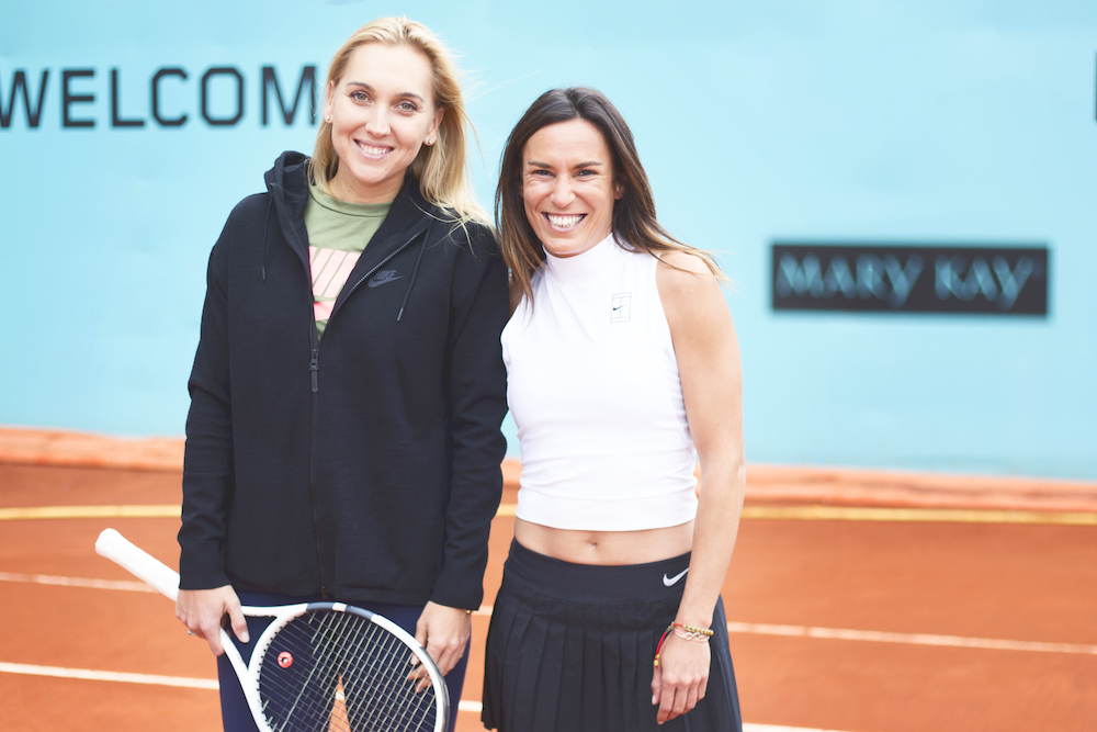 mutua madrid open tenis pau inspirafit elena vesnina