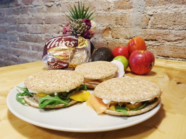Comida rápida pero sana y nutritiva. Tres recetas de Sandwich de Thins®