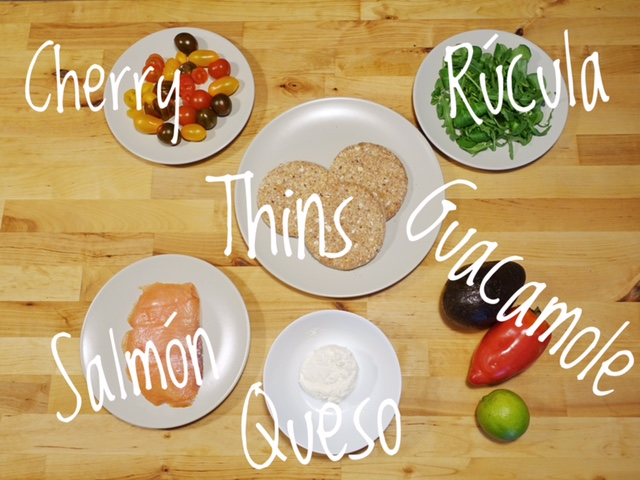 comida rápida sana thins bimbo pan sandwich inspirafit saludable
