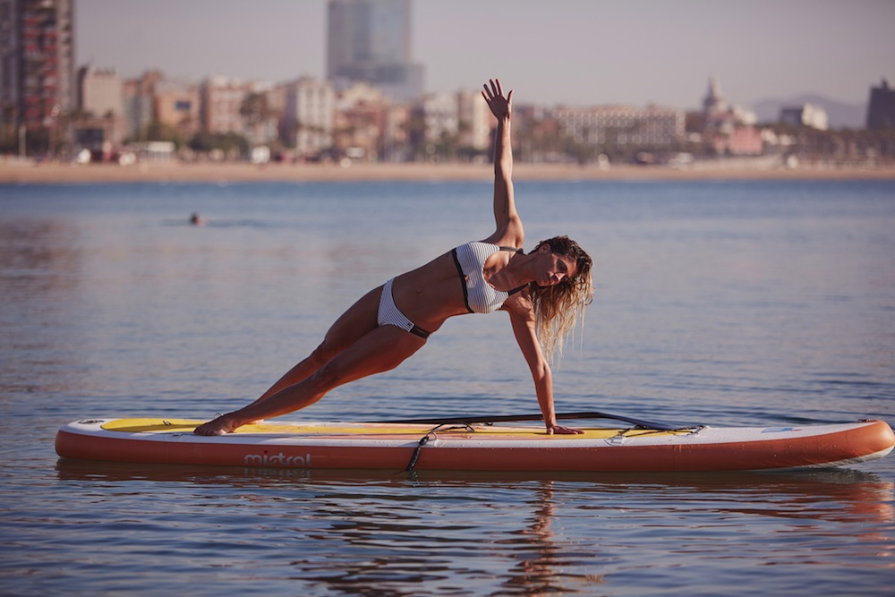 nike boxbarcelona inspirafit paddle surf playa mar