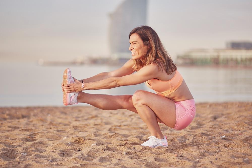 boxbarcelona inspirafit playa nike inspira cool lunes entrenamiento