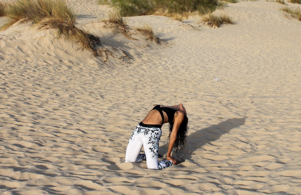 flexibilidad entrenamiento gomas elasticas pau inspirafit paula butragueño fitness