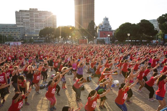 fit night out bimbo thins evento mujer fitness pau inspirafit madrid